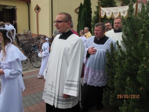 Odpust i Bierzmowanie 2012