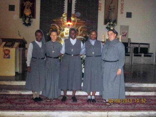 Wizyta Sióstr z Tanzanii