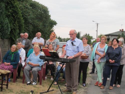 Poświęcenie Krzyża ul. Sadowa i Łabędzia